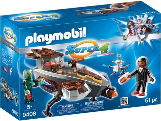 PLAYMOBIL® 9408 Vesmírná loď Sykroňanů a Gene