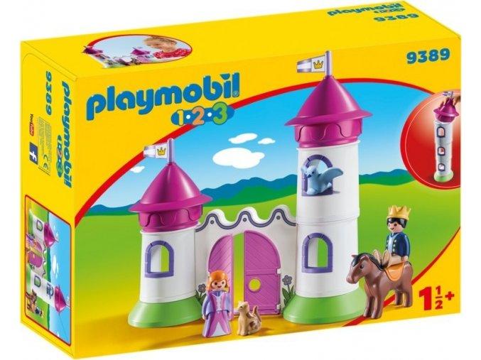 PLAYMOBIL® 9389 Hradní brána s věžemi (1.2.3.)
