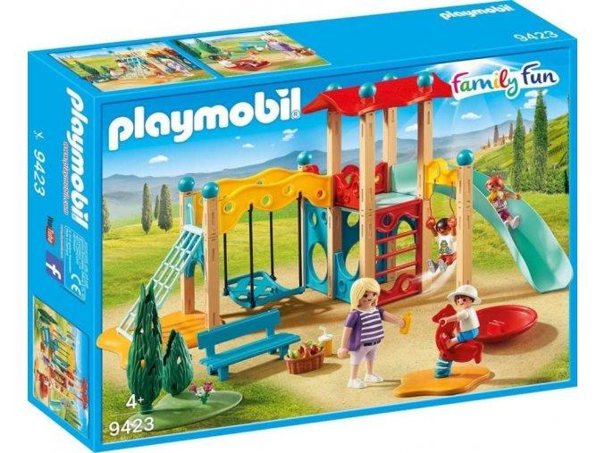 PLAYMOBIL® 9423 Velké dětské hřiště