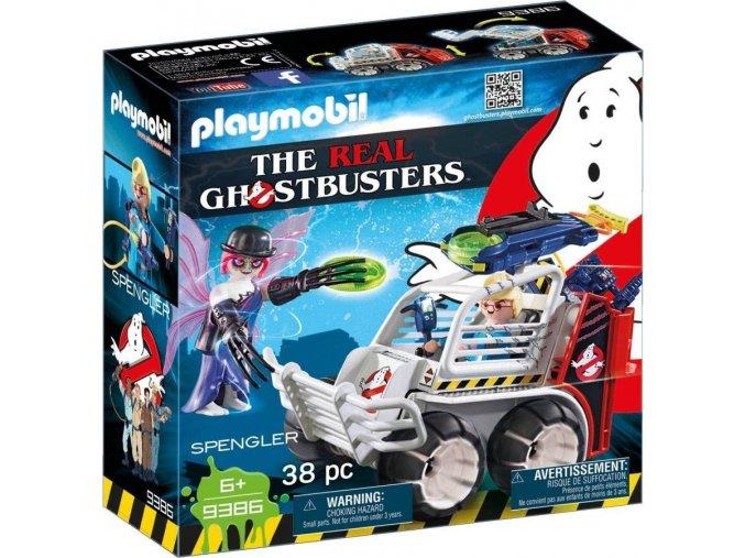 PLAYMOBIL® 9386 The Real Ghostbusters Spengler ve vozidle s klecí