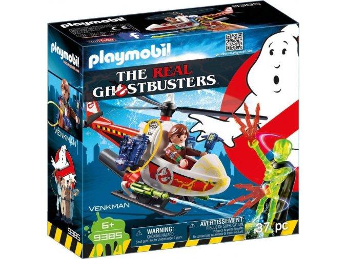 PLAYMOBIL® 9385 The Real Ghostbusters Venkman s helikoptérou