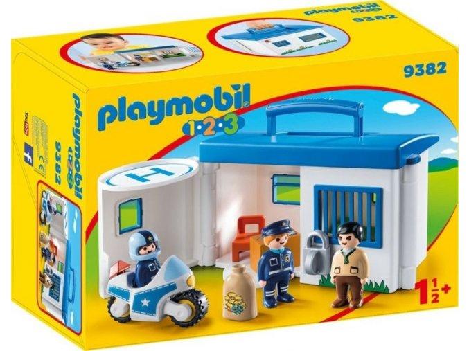 PLAYMOBIL® 9382 Přenosná policejní stanice (1.2.3.)