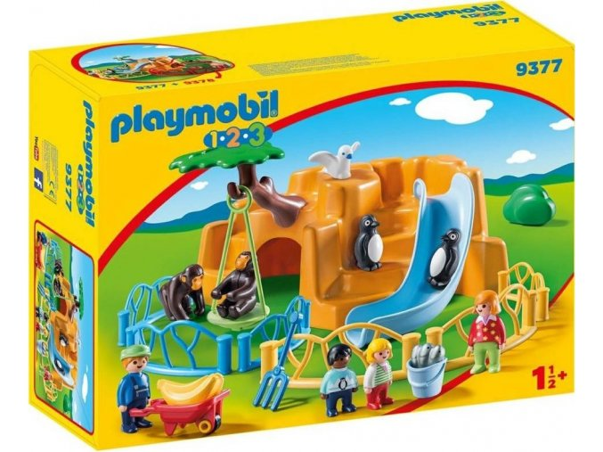 PLAYMOBIL® 9377 ZOO (1.2.3.)