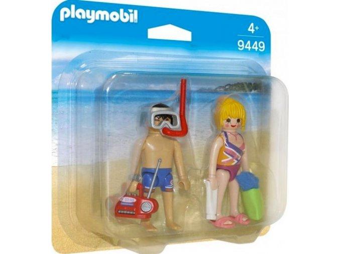PLAYMOBIL® 9449 Návštěvníci pláže