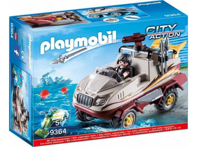 PLAYMOBIL® 9364 Obojživelný vůz specilání zásahové jednotky