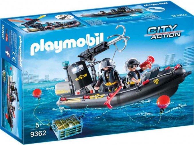 PLAYMOBIL® 9362 Člun speciální zásahové jednotky