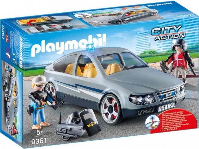 PLAYMOBIL® 9361 Civilní auto speciální zásahové jednotky