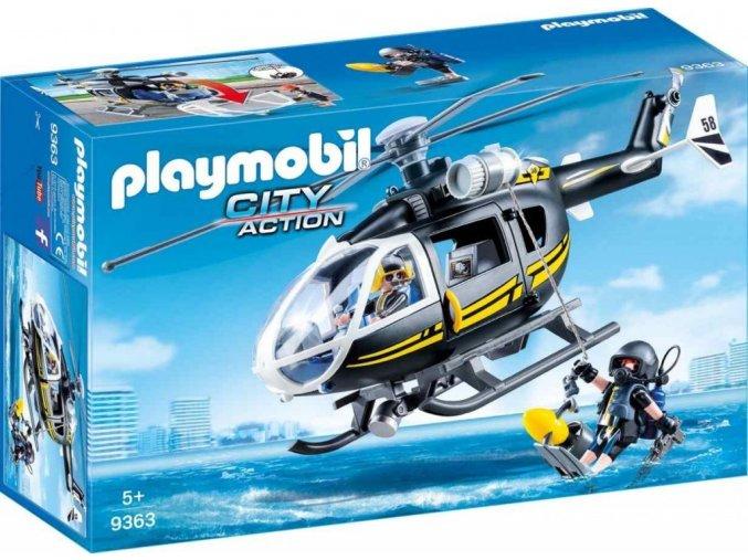 PLAYMOBIL® 9363 Vrtulník speciální zásahové jednotky