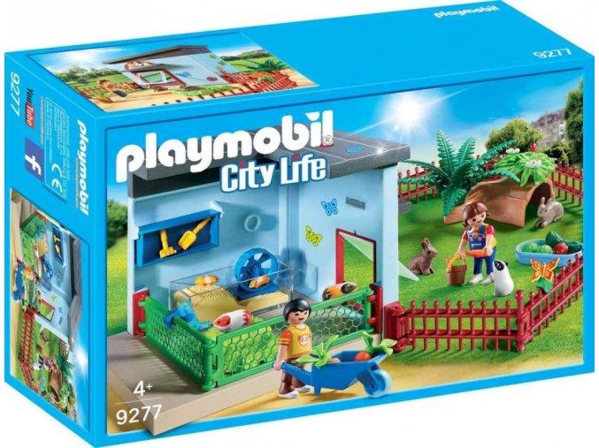 PLAYMOBIL® 9277 Penzion pro malé zvířátka
