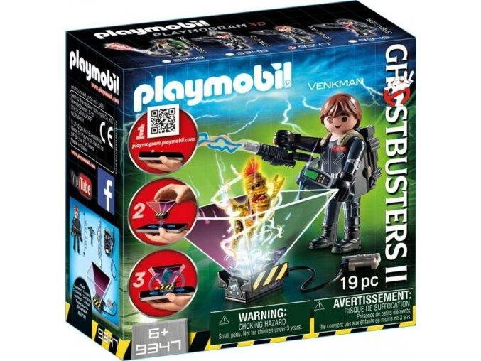 PLAYMOBIL® 9347 Ghostbusters II. Lovec duchů Venkman