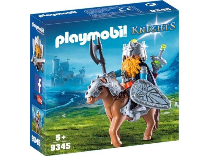 PLAYMOBIL® 9345 Trpaslík na poníkovi