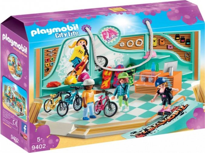 PLAYMOBIL® 9402 Cyklo & Skate Shop