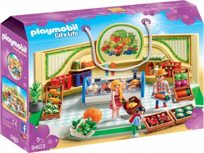PLAYMOBIL® 9403 Prodejna zdravé výživy