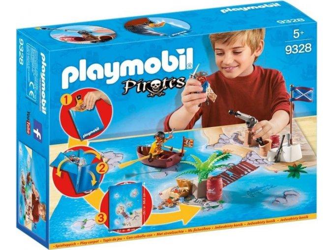 PLAYMOBIL® 9328 Herní mapa Piráti