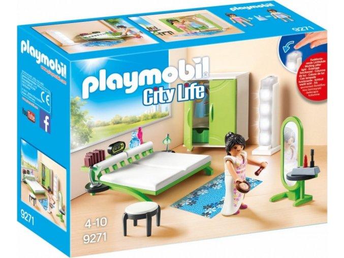 PLAYMOBIL® 9271 Ložnice se světlem