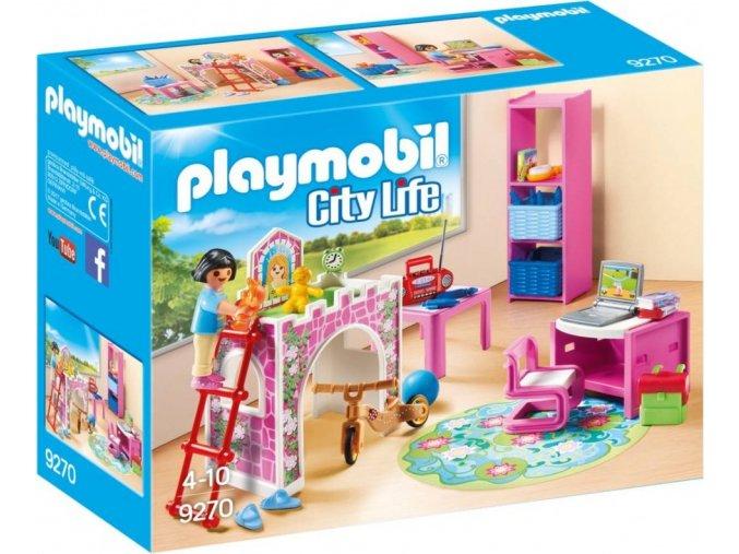 PLAYMOBIL® 9270 Veselý dětský pokoj