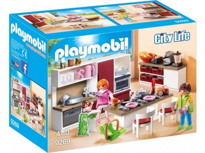 PLAYMOBIL® 9269 Velká rodinná kuchyň