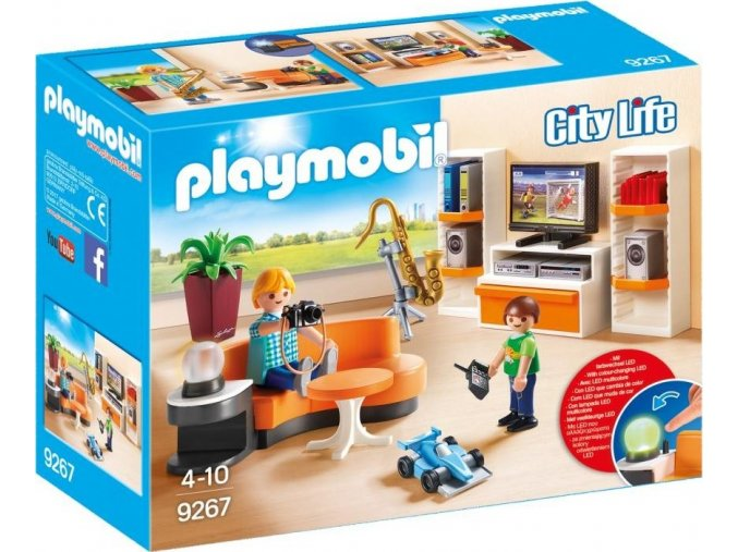 PLAYMOBIL® 9267 Obývací pokoj