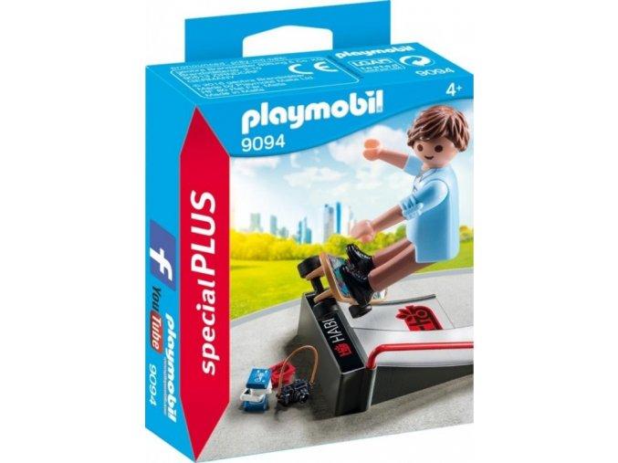 PLAYMOBIL® 9094 Skejťák s rampou