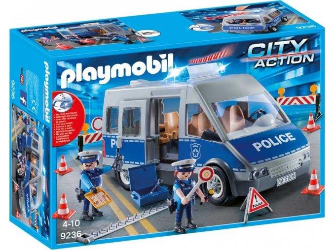 PLAYMOBIL® 9236 Policejní anton se zátarasy