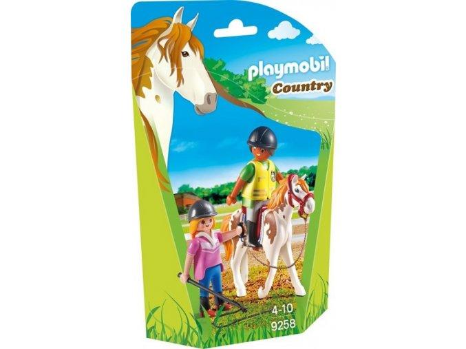 PLAYMOBIL® 9258 Jezdecká instruktorka