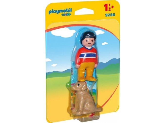 PLAYMOBIL® 9256 Chlapec s pejskem (1.2.3)
