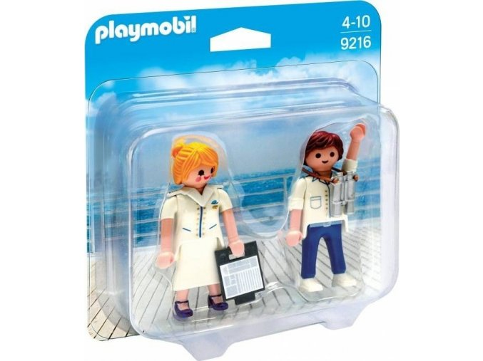 PLAYMOBIL® 9216 Pilot a letuška