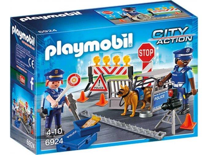 PLAYMOBIL® 6924 Policejní zátaras