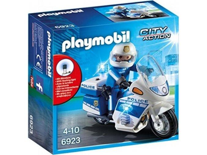 PLAYMOBIL® 6923 Motohlídka s LED majákem
