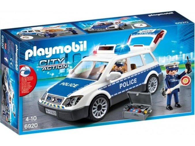 PLAYMOBIL® 6920 Policejní auto s majákem