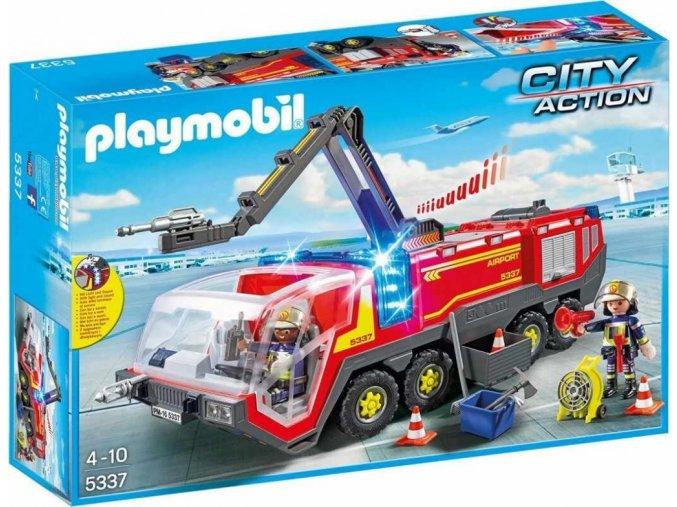 PLAYMOBIL 5337 Letištní hasičský vůz se sirénou