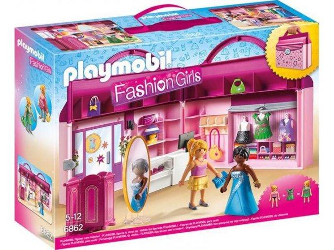 PLAYMOBIL® 6862 Módní butik, přenosný kufřík