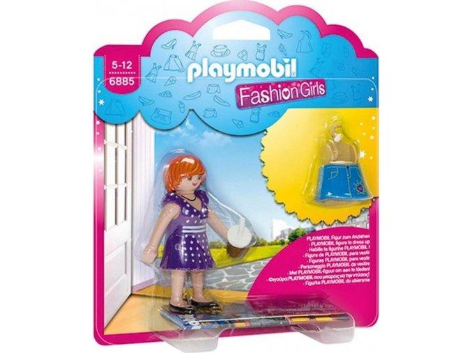 PLAYMOBIL® 6885 Módní dívka - Město