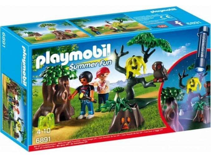 PLAYMOBIL® 6891 Noční stezka odvahy s UV světlem