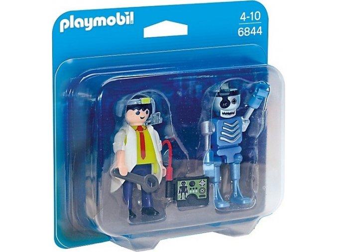 PLAYMOBIL® 6844 Profesor a robot