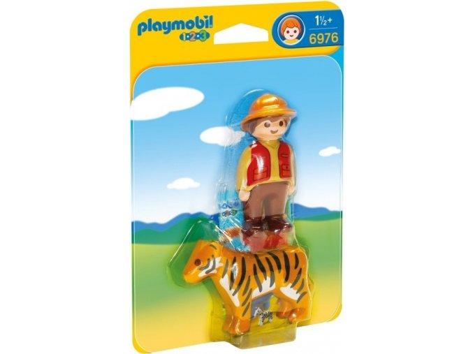 PLAYMOBIL® 6976 Ošetřovatel s tygrem (1.2.3)