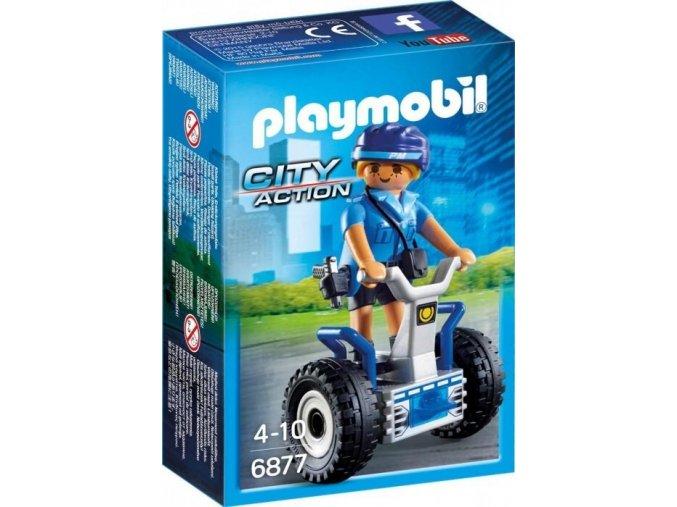 PLAYMOBIL® 6877 Policistka na segway