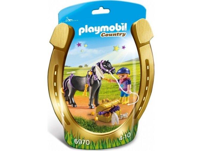 """PLAYMOBIL® 6970 Zdobení poníků """"Hvězdička"""""""