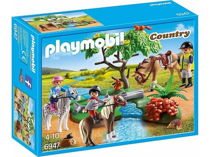 PLAYMOBIL® 6947 Krásná vyjížďka na ponících