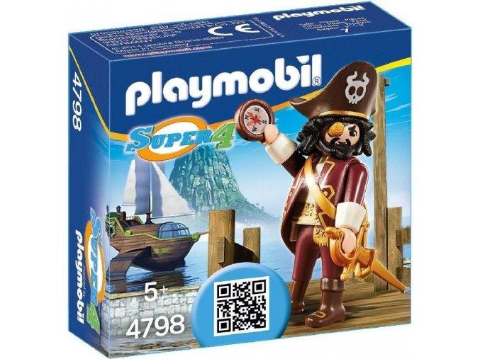 PLAYMOBIL® 4798 Pirát Vousáč (Sharkbeard)