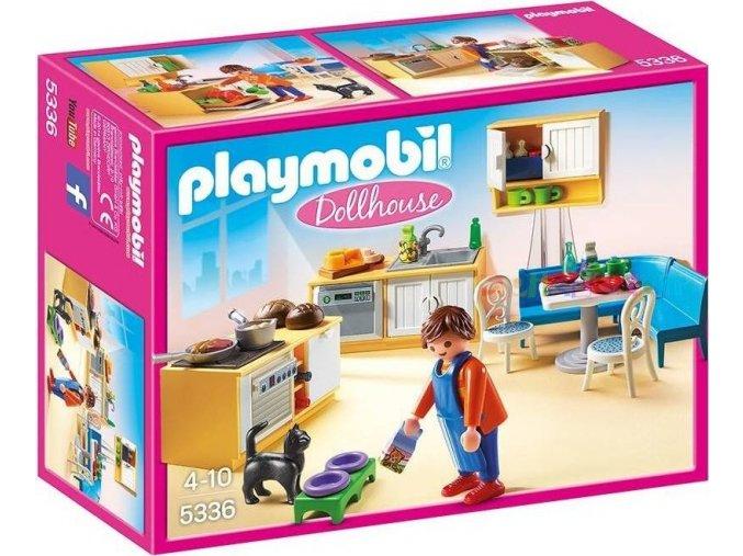 PLAYMOBIL® 5336 Kuchyně s jídelním koutem