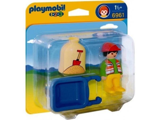 PLAYMOBIL® 6961 Stavební kolečko (1.2.3)