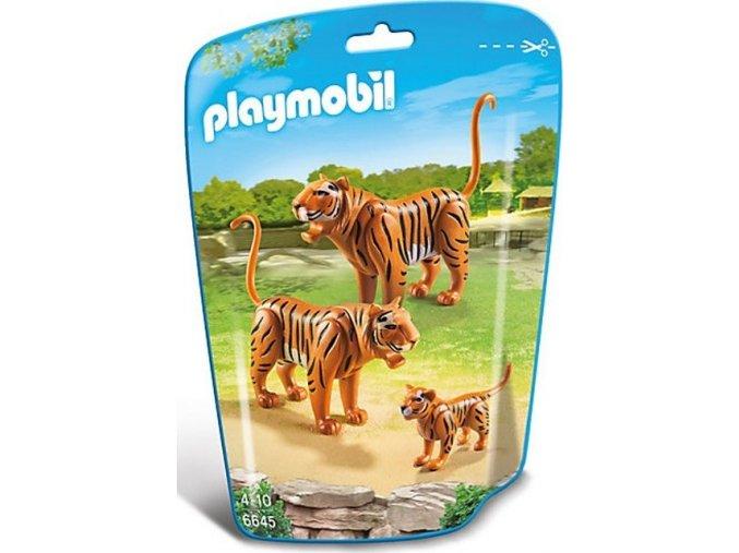 PLAYMOBIL 6645 Tygří rodinka