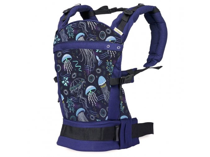 liliputi ergonomicke nositko deep blue morsky svet LLPT707 1