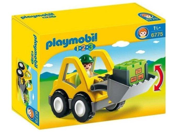 PLAYMOBIL® 6775 Čelní nakladač (1.2.3)