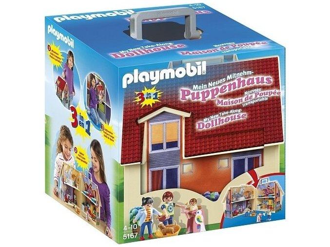 PLAYMOBIL® 5167 Přenosný dům pro panenky