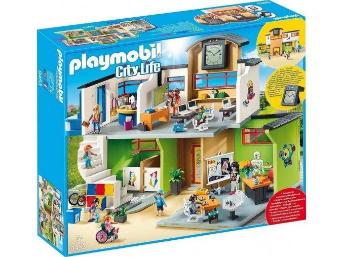 PLAYMOBIL® 9453 Velká škola s příslušenstvím