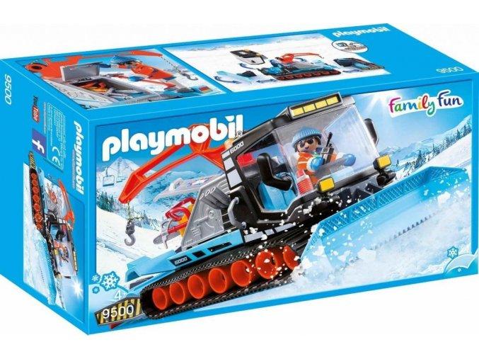PLAYMOBIL® 9500 Sněžná rolba