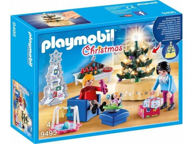 PLAYMOBIL® 9495 Vánoční pokoj