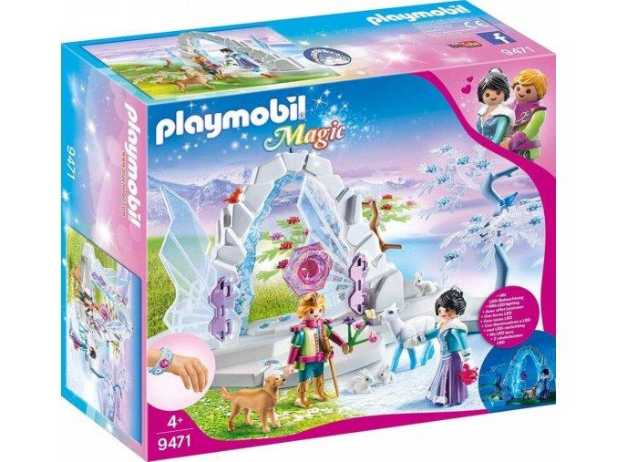 PLAYMOBIL® 9471 Křišťálová brána do zimního světa